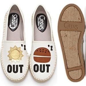 "Circus by Sam Edelman ""Sun'z Out, Bun'z Out"" Flat"